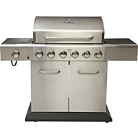 Outback Meteor 6 Burner Gas BBQ - Home Delivery