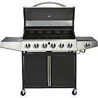 Iowa 6 Burner Gas BBQ - Collect in Store