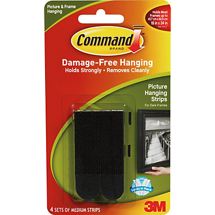 3m Command Value Self Adhesive Picture Hanging Strips