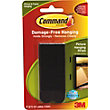 3M Command Large Picture Hanging Strips Black