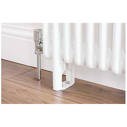 Image for Colonna 4 Column Radiator Feet - White from StoreName
