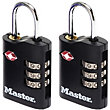 Master Lock TSA Certified Padlocks - 2x 30mm