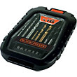 Black & Decker A7186 Drilling and Screwdriving Set  - 16 Pieces