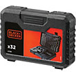 Black & Decker 32Pc Drilling and Screwdriving Set - A7216