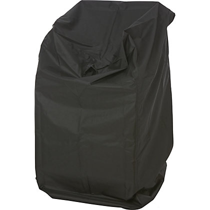 Image for Premium Garden Furniture Stacking Chair Cover - Black from StoreName