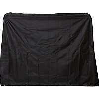 Premium Garden Swing Seat Cover - Black