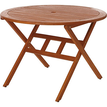 Image for Peru Round Wooden Table from StoreName