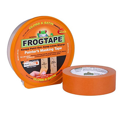Image for FrogTape Gloss & Satin Paint Masking Tape - 24mm x 41.1m from StoreName