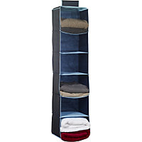 Russel 6 Pocket Sweater Organiser - Dark Blue with Light Blue Trim