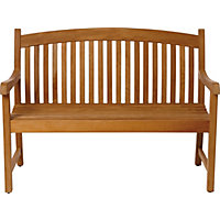 Greenwich 2 Seater Teak Garden Bench