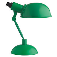 Habitat Tommy Metal Desk Lamp - Green