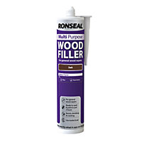 Ronseal Multipurpose Wood Filler Cartridge - Dark - 310ml