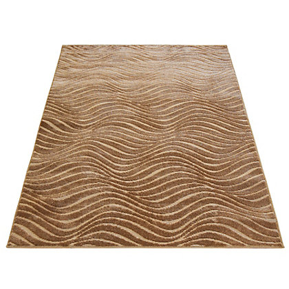 Image for Reflect Wave Rug Bronze - 120 x 170cm from StoreName