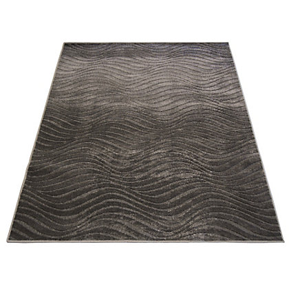 Reflect Wave Rug Grey 120 X 170cm