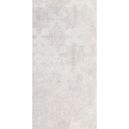Image for Urban Damask Grey Ceramic Wall Tile - 5 pack from StoreName