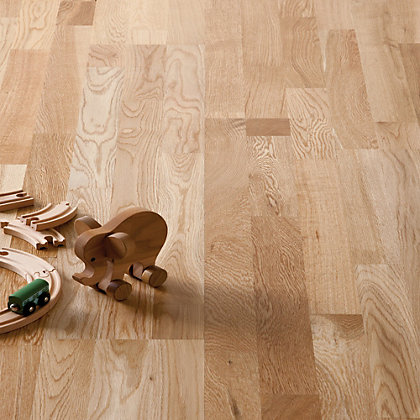 Image for Hygena 3 Strip Engineered Wood Flooring - 1.59 sq m from StoreName
