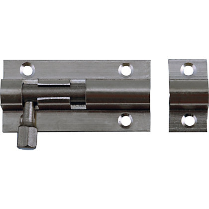 Image for Straight Bolt - Chrome - 51mm from StoreName