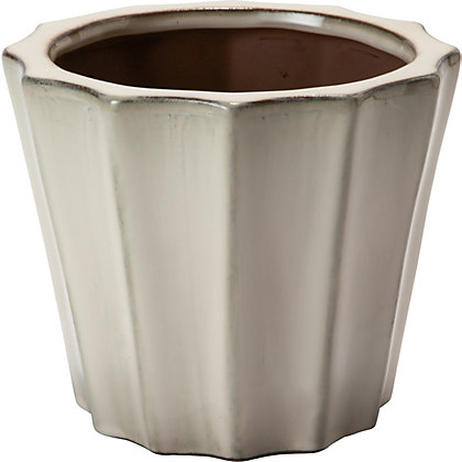 Image for Cupcake Cream Garden Planter - 39cm from StoreName