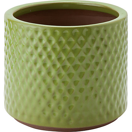 Image for Livorno Green Garden Planter - 24Cm from StoreName