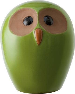 Explorer Green Owl Ornament Small