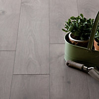 Hygena San Diago Oak Laminate Flooring - 2.22 sq m per pack