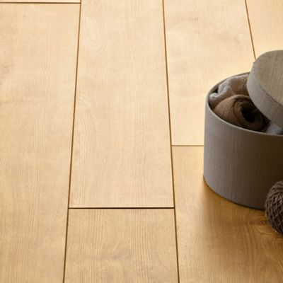 Image for Hygena Sherwood Oak Laminate Flooring - 2.22sq m per pack from StoreName