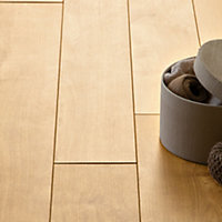 Hygena Sherwood Oak Laminate Flooring - 2.22sq m per pack