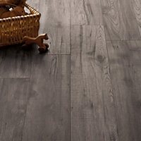 Schreiber Dove Grey Oak Laminate Flooring - 1.76sq m per pack