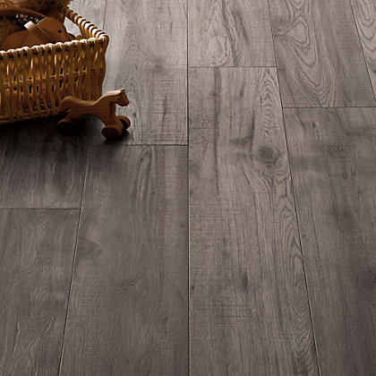 Image for Schreiber Dove Grey Oak Laminate Flooring - 1.76sq m per pack from StoreName