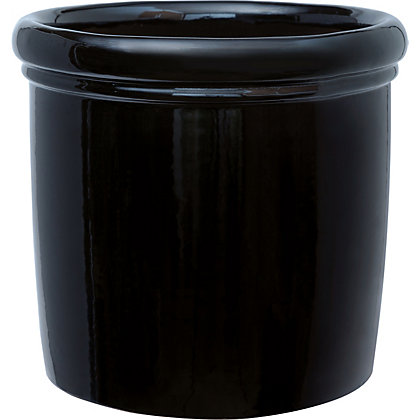 Image for Calcite Black Garden Planter - 34cm from StoreName