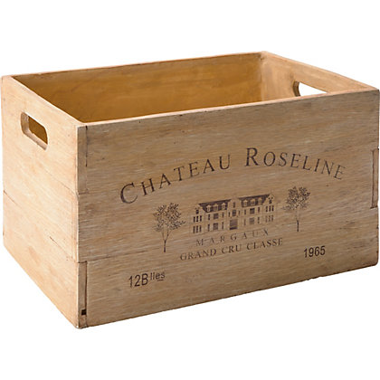 Image for Wine Crate Garden Planter - 45cm from StoreName
