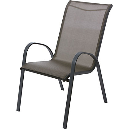 Image for Andorra Bronze Metal Stacking Chair from StoreName
