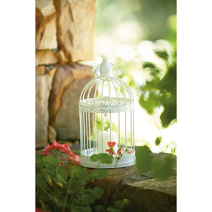 Image for Small Metal Birdcage Tea Light Holder from StoreName