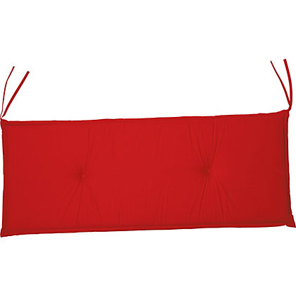 Image for Garden Bench Cushion - Raspberry from StoreName