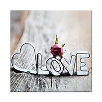 Love Printed Canvas