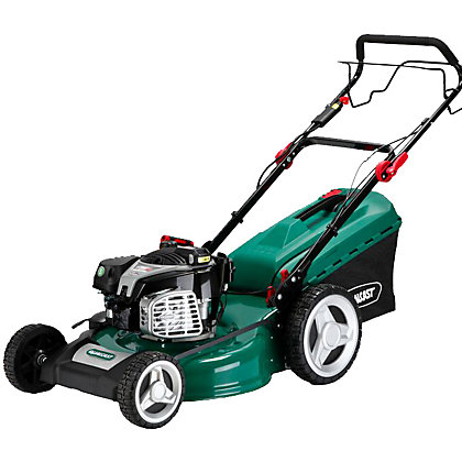 Image for Qualcast 161cc Key Start Self Propelled Petrol Rotary Lawn Mower - 53cm from StoreName