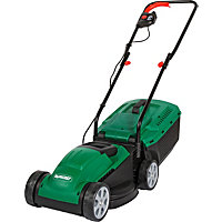 Qualcast 1200W Electric Rotary Lawn Mower - 32cm