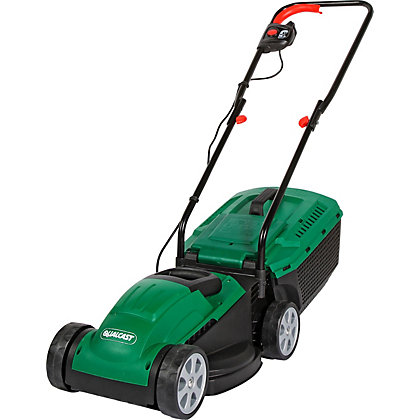 Image for Qualcast 1200W Electric Rotary Lawn Mower - 32cm from StoreName