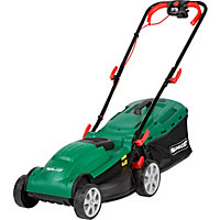 Qualcast 1400W Electric Rotary Lawn Mower - 34cm