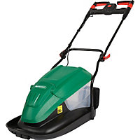 Qualcast 1700W Electric Hover Collect Lawn Mower - 33cm