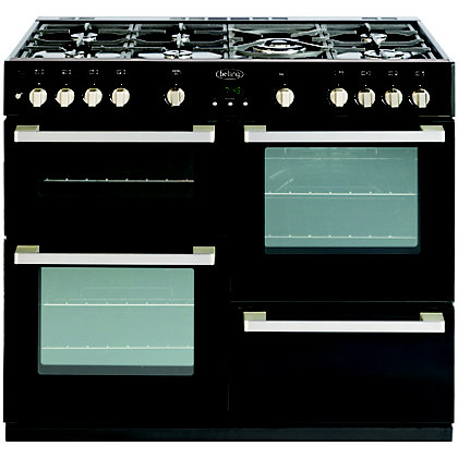 Image for Belling 444443019 DB4 100G Range Cooker - Black from StoreName