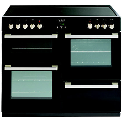 Image for Belling DB4 444443023 100E Range Cooker - Black from StoreName