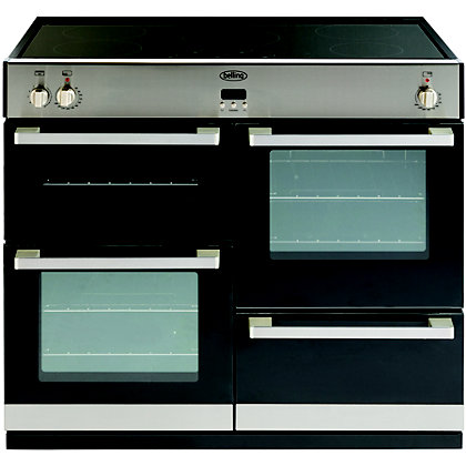 Image for Belling DB4 444443028 100Ei Range Cooker - Stainless Steel from StoreName