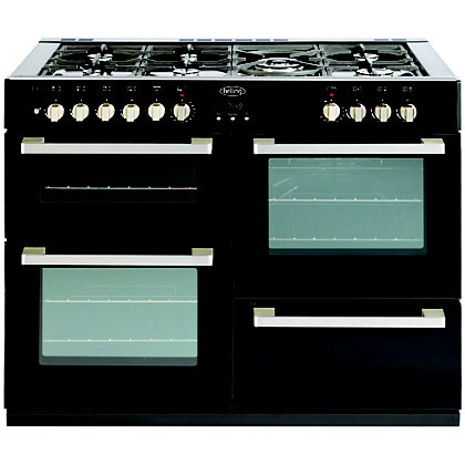 Image for Belling DB4 444443031 110DF Range Cooker - Black from StoreName