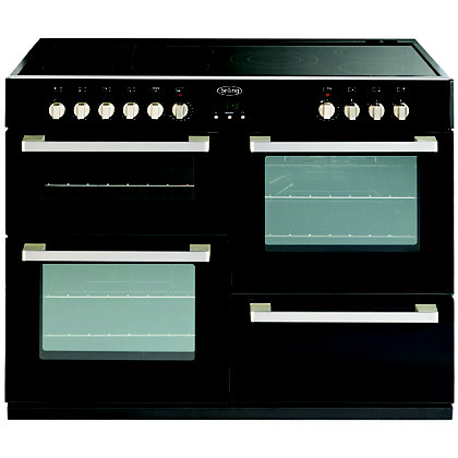 Image for Belling DB4 444443039 110E Range Cooker - Black from StoreName