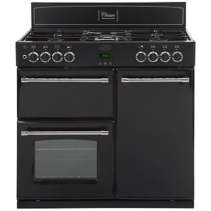 Image for Belling Classic 444443485 90GT Range Cooker - Black from StoreName