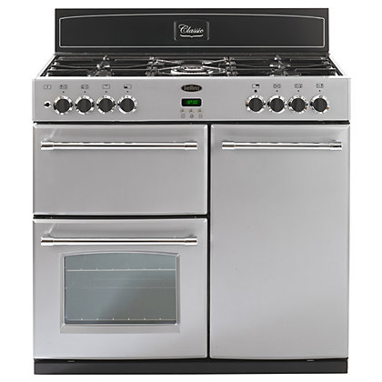 Image for Belling Classic 444443487 90GT Range Cooker - Silver from StoreName