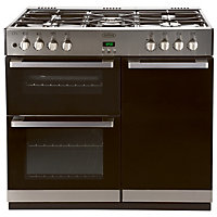 Belling DB4 444443490 90GT Range Cooker - Stainless Steel