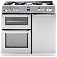 Belling DB4 444443491 90GT Range Cooker - Stainless Steel