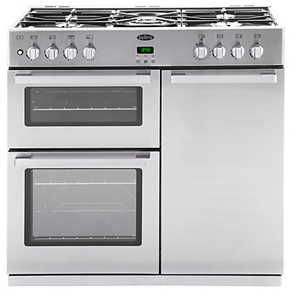 Image for Belling DB4 444443491 90GT Range Cooker - Stainless Steel from StoreName
